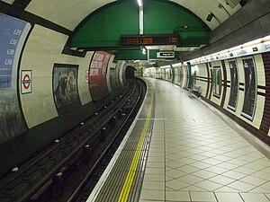 Edgware Road Tube schemes - The Edgware Road station on the Bakerloo Tube (now the Bakerloo line)