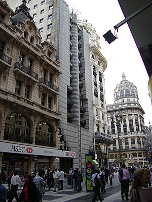 HSBC Bank Argentina - The former Argentine head office of BNL, now an HSBC branch