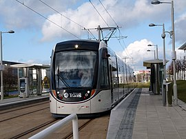 Edinburgh Park Central tram stop.jpg