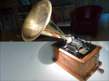 Phonograph Sound-machine Neu Retro-music-player Classic Gramophone Grammophon