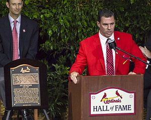 Jim Edmonds - Edmonds' Cardinals Hall of Fame speech