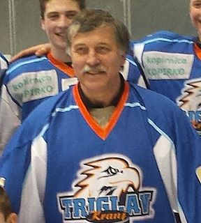 Edo Hafner Yugoslav and Slovenian ice hockey player