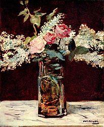 Édouard Manet: Lila et Roses