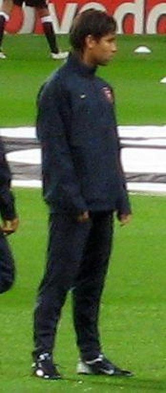 Eduardo da Silva - Eduardo training with Arsenal in September 2007