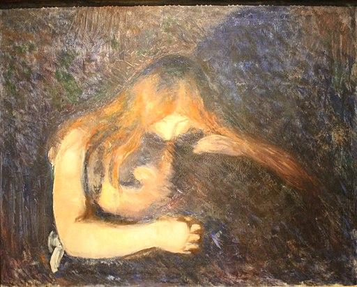 Edvard Munch Vampire