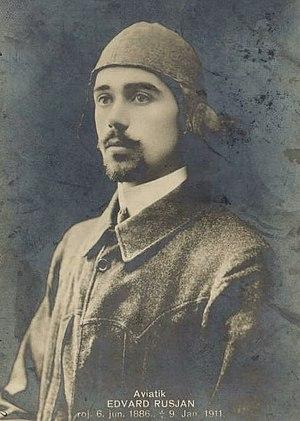 Edvard Rusjan - Edvard Rusjan in 1911