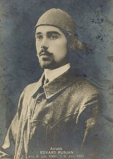 Edvard Rusjan (costruttore e pilota)