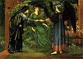 Edward Burne-Jones - Il Cuore della Rosa, 1889.jpg