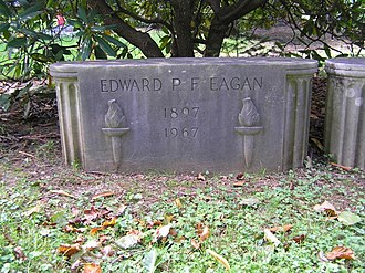Eddie Eagan - The grave of Eddie Eagan in Greenwood Union Cemetery, Rye, New York