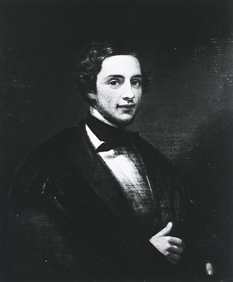 Edwin Smith (Egyptologist) - Portrait of Edwin Smith painted 1847 by Francesco Anelli, in the collection of the New-York Historical Society.