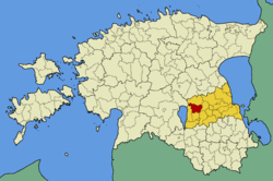 Puhja Parish within Tartu County.