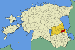 Võnnu Parish within Tartu County.