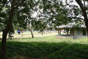 Efua Sutherland - Efua Sutherland Children Park. Located near the centre of Accra, this is the Accra equivalent of Central Park, only very much smaller.