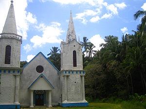 Akamaru Island - Image: Eglise.Notre Dame de la Paix.Akamaru