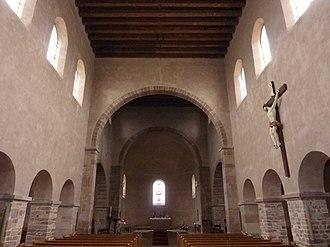 St Trophimus' Church, Eschau - Image: Eglise Saint Trophime, Eschau 4