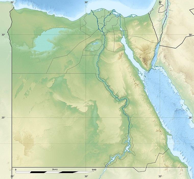 Site Map Digital: Ókori Egyiptom