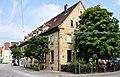 Ehemaliges Postgebäude, (1917) Südwestfassade und Südostgiebel.jpg