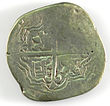 Eight Reales of Philip IV - Counterfeit (YORYM-1995.109.16) obverse.jpg