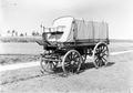 Ein zugedeckter Brieftaubenwagen - CH-BAR - 3240820.tif