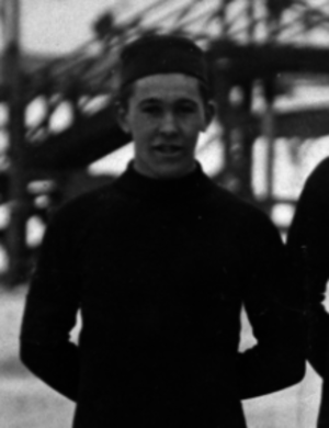 Einar Berntsen - Einar Berntsen in February 1912 as a speed skater in Stockholm, Sweden.