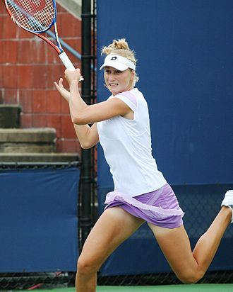 Ekaterina Makarova - Ekaterina Makarova at the 2010 US Open