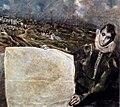 El Greco - View and Plan of Toledo (detail) - WGA10608.jpg