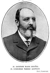El eminente sabio español Leonardo Torres Quevedo, de Franzen.jpg