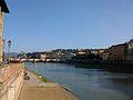 El riu Arno al seu pas per Florència.JPG