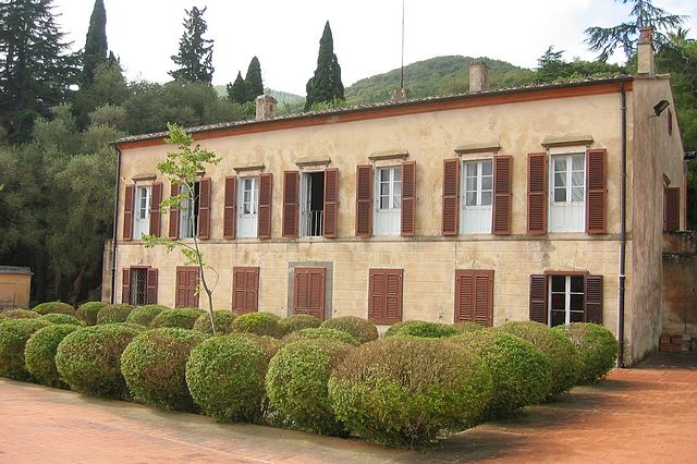 Вилла Наполеона в Сан-Мартино (Эльба)