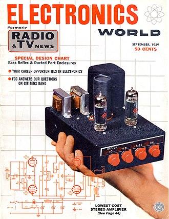Radio News - Image: Electronics World Sep 1959