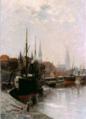 Elisabeth Reuter Hafen von Lübeck 1897.PNG