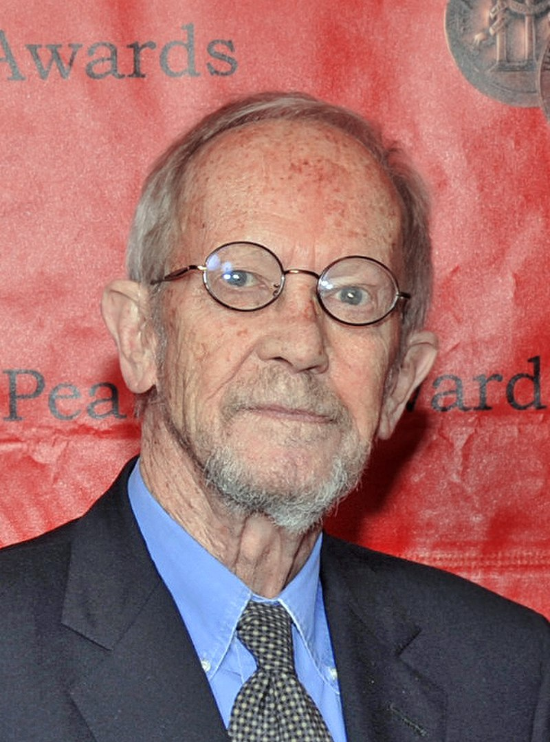 Elmore Leonard, Miami Book Fair International, 1989