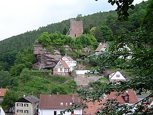 Elmstein - Elmstein – village and ruins