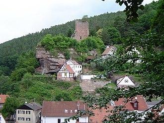 Elmstein - Elmstein – village and ruins