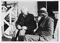 Elsdon Best with Hone Nukunuku at Waiomatatini, Gisborne Region, 1923.jpg