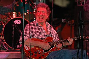 Elvin Bishop - Bishop performing at the Riverwalk Blues Festival, Fort Lauderdale, Florida, in February 2006