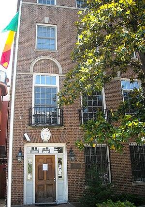 Embassy of Mali, Washington, D.C. - Image: Embassy of Mali United States