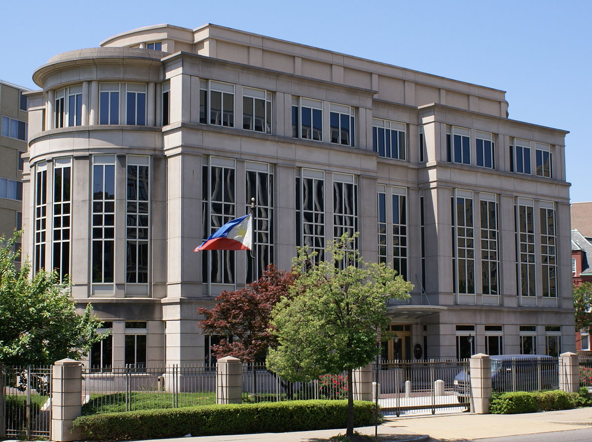 Embassy of the Philippines, Washington, D C  - Wikipedia