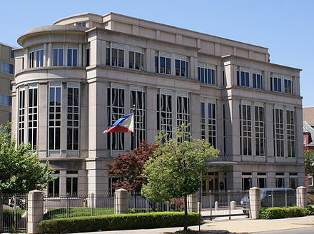 The Philippine Embassy in Washington, D.C., United States. - Philippines