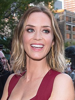 Emily Blunt English-American actress