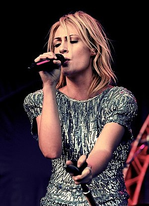 Emily Haines - Haines at the 2010 Ottawa Bluesfest