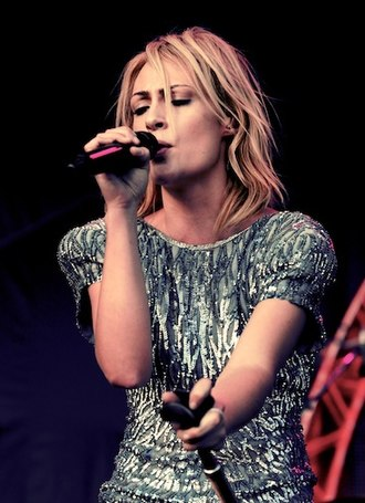 Emily Haines - Haines performing at Ottawa Bluesfest in 2010