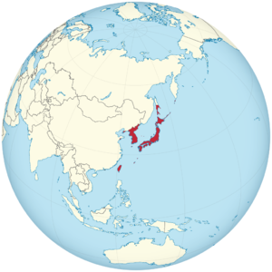 Empire of Japan on the globe (de-facto) (Japan centered) svg.png