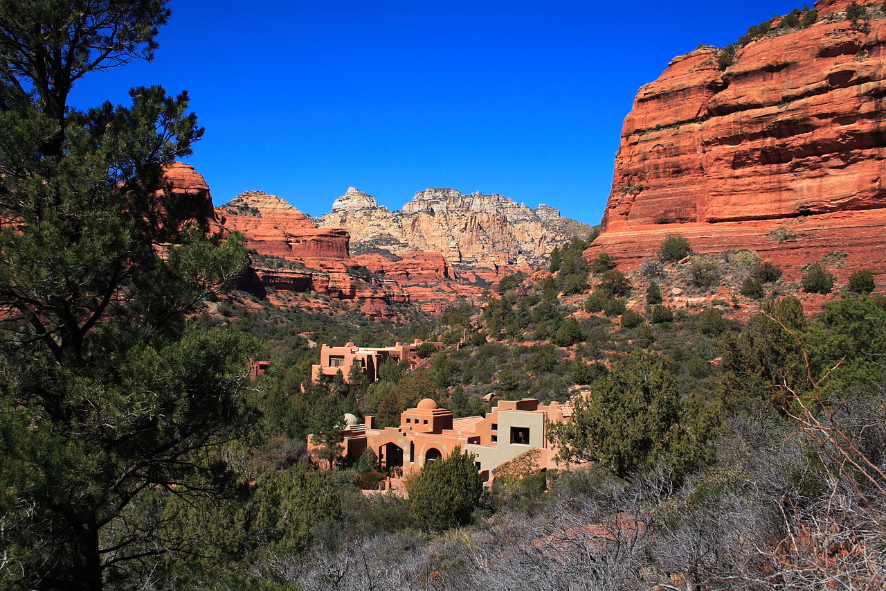 File enchantment resort near wikimedia commons for Sedona cabins and lodges