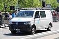 Ennen Lippujuhlan päivän 2017 paraatin alkua 17 YLE lähetysauto.JPG
