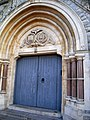 Entrance to Greek Orthodox Church of SS Constantine and Helena, London - geograph.org.uk - 1097129.jpg
