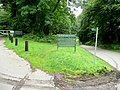 Entrance to Woodlands Campsite - geograph.org.uk - 1441542.jpg