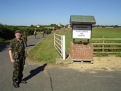 Entrance to the Eastmere Training Village - geograph.org.uk - 153455.jpg
