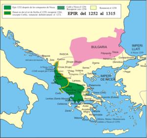 Το Δεσποτάτο της Ηπείρου από το 1252 έως το 1315