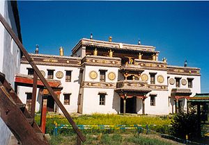 Erdene Zuu Monastery - Image: Erdene Zuu Khiid Laviran